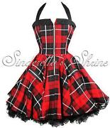 Hell Bunny Tartan Dress