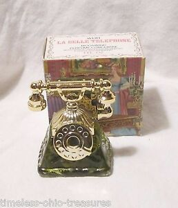 Avon COLLECTIBLE French Telephone in original box (no perfume)