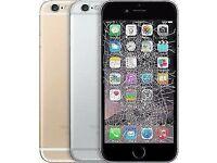 IPHONE CRACKED SCREEN REPAIR UNBEATABLE CHEAPEST OFFER!IPHONE7£45,IPHONE7+£55IPHONE6S£35,IPHONE6G£25