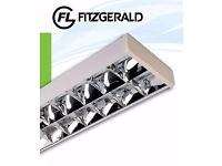 Fitzgerald Surface Mounted Fluorescent light fitting 1562mm x 254mm with 2 x 35W bulbs