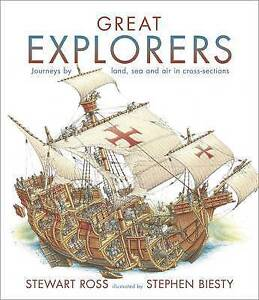 Great Explorers ' Stewart Ross