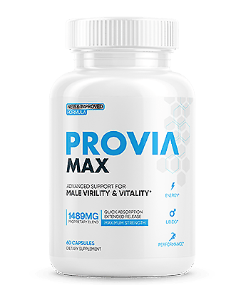 Provia Max - Male Virility and Vitality Support Enhancement - PROVIA MAX