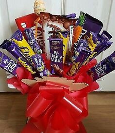 Sweet And chocolate bouquet! Ideal Mother's Day gift present or easter birthday