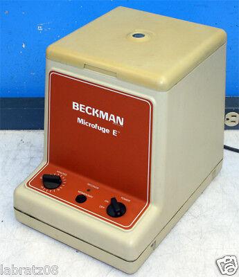 Beckman Instruments Microfuge E Centrifuge 348720