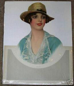 MAGNIFICENT-LG-UNUSED-1920S-DIECUT-CALENDAR-TOP-BEAUTIFUL-JULIA-BY ...