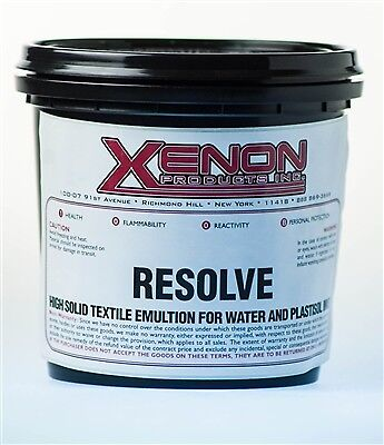 Xenons Resolve Emulsion For Screen Printing