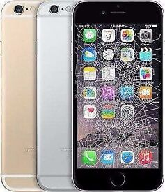 IPHONE CRACKED SCREEN REPAIR INVINCIBLE CHEAPEST OFFER!IPHONE7£60,IPHONE7+£73IPHONE6S£43,IPHONE6G£30