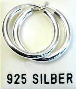 Creolen Silber Breit