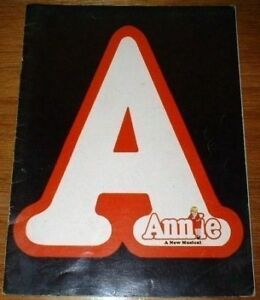 Annie-Musical-Theater-Program-1977-Sarah-Jessica-Parker-Shelley-Bruce-Theatre