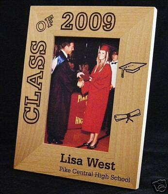 Personalized 8x10 Photo Frame, Graduation, Class of 2018 Personalized Graduation Photo