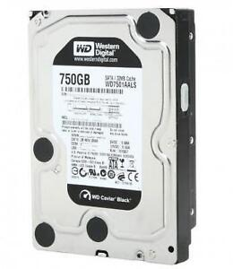 WD Black 750GB 3.5 7200 RPM (WD7501AALS) - SATA 3Gb/s - Hard Drive
