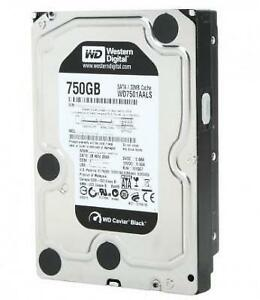 "WD Black 750GB 3.5"" 7200 RPM (WD7501AALS) - SATA 3Gb/s - Hard Drive"