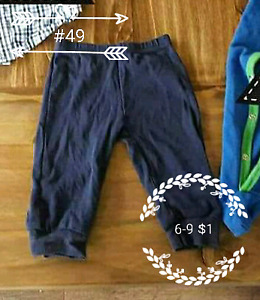 6 and 6 to 9 month clothing