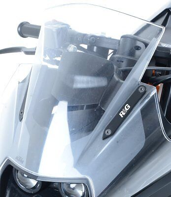 R&G Racing Mirror Blanking Plates to fit KTM RC 125 2014-