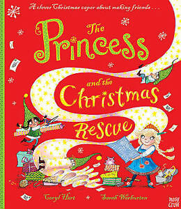HART; WARBURTON-THE PRINCESS AND THE CHRISTMAS RE  BOOK NEW