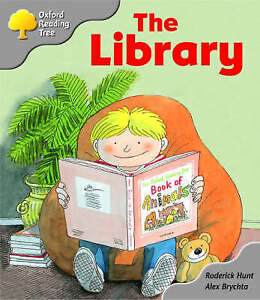 Oxford Reading Tree: Stage 1: Kipper Storybooks: The Library, Hunt, Roderick, Ve