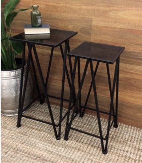 Console Tables With Black Glass Top