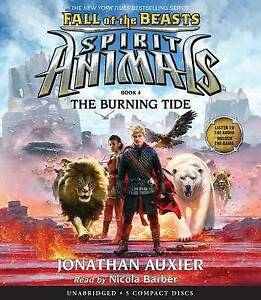 The Burning Tide (Spirit Animals: Fall of the Beasts, Book 4) by  97813 CD-AUDIO