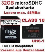 Micro SD Speicherkarte Samsung
