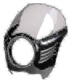 Harley Dyna - Sportster Arlen Ness Louvered SOA style Drag Café Retro Brat Fairing windshield
