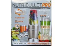 Brand new boxed Red nutribullet pro 900w