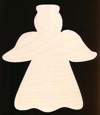 Christmas wood cutouts ebay for Wooden christmas cutouts