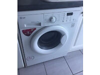 LG Washing Machine 7kg Load 1400 Spin Direct Drive