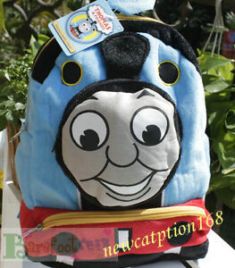 NEW-VERY-CUTE-Thomas-Friends-Thomas-Children-2-ZIPPERS-DRESS-UP-BACKPACK-RARE