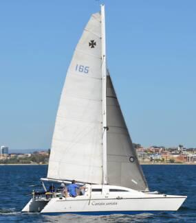 """Crowther 29' Catamaran – Racing Cruiser  """"Carista carista"""""""