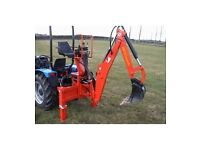 Wanted back actor for compact tractor