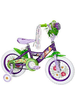 Disney Fairies Tinkerbell 12 INCH Bike/ Training Wheels/Helmet