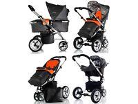Cosatto Budi 3-1 travel system all terrain pushchair