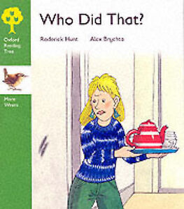 Oxford Reading Tree: Stage 2: More Wrens Storybooks: Who Did That?-ExLibrary