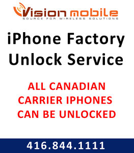iPhone Unlock Service - All iPhone Models - $10 - 1 Hour Service