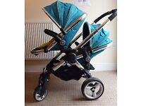 Icandy peach sweet pea double buggy
