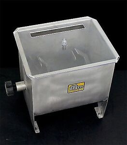 new mtn commercial stainless steel restaurant hand sausage meat mixer 32lbs - Meat Mixer