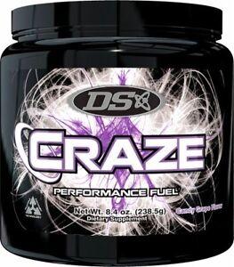 Driven-Sports-CRAZE-Pre-Workout-Performance-Fuel-45-Servings-BUILD-MUSCLE-FAST