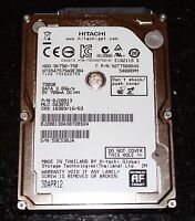 "750 GB Hard Drive 2.5"" For Sale!"