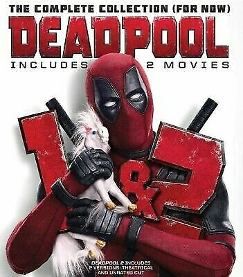 Deadpool 1 & 2 Movie Collection (2019)