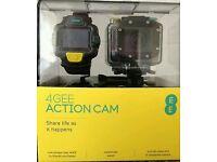 GARRETT 250 , 4 my as new ee action cam