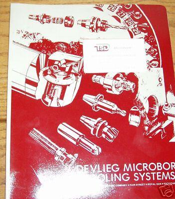 Devlieg Microbore Precision Tool Presetter Ops Manual