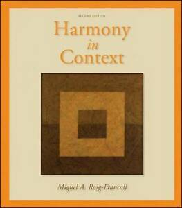 Harmony in Context, Roig-Francoli, Miguel