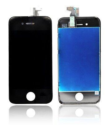 Apple Iphone 4 - Ecran LCD + vitre tactile - Dalle complète - Couleur Noir
