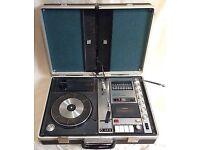 Sanyo vintage portable record player