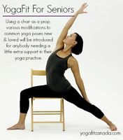 Learn how to teach Chair Yoga - Yoga for Seniors