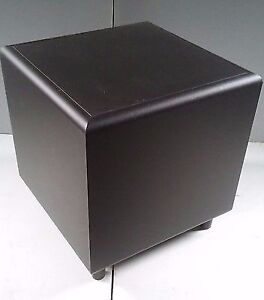 Hitachi HTS5 Powered Home Theatre Subwoofer Speaker Cube 10""
