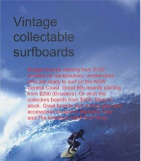 80s surfboards sellout