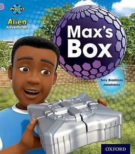 Project X: Alien Adventures: Lilac: Max's Box by Tony Bradman (Paperback, 2013)