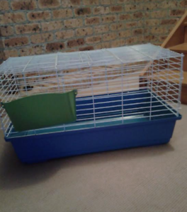 Used Guinea pig/ rabbit cage - 80cm(W) x46cm (D) x40cm (H) Blackbutt Shellharbour Area Preview