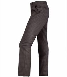 Abacus Mens Grey Check Golf Pant Terrey Hills Warringah Area Preview